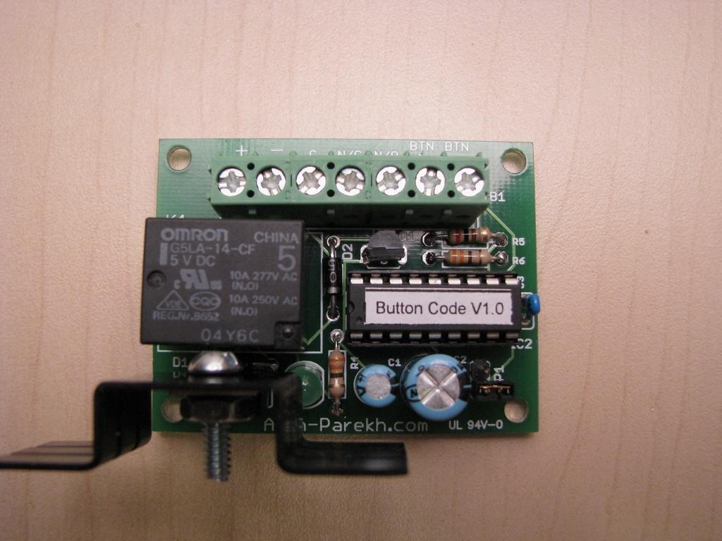 Button Code – Single Button Code Entry System - Alan