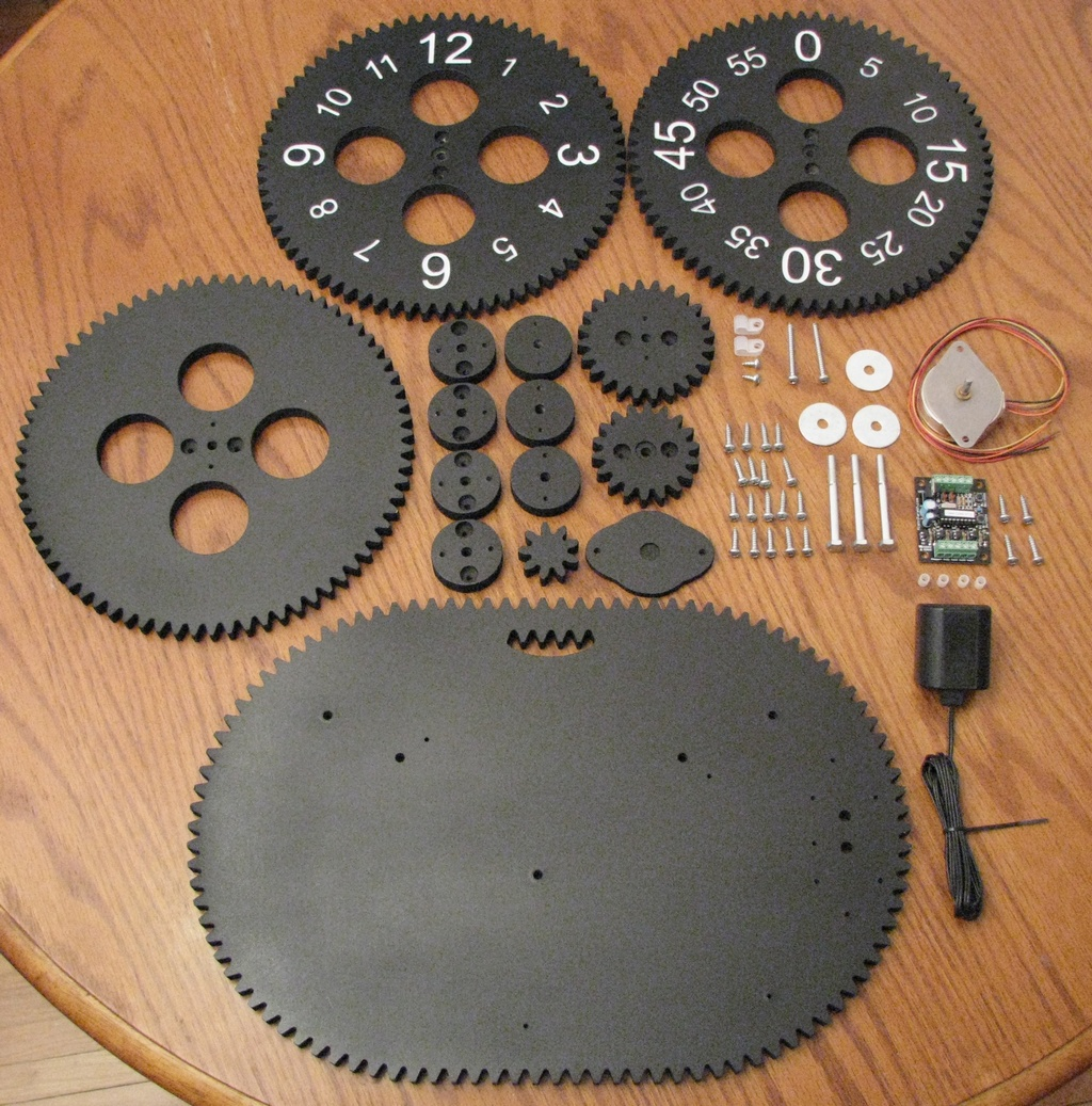 gear clock kit